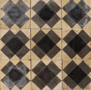 Reclaimed Patterned Encaustic Floor Tiles 2.4 m2 (25 ft2)