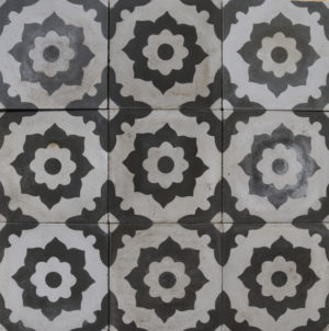 Reclaimed Patterned Encaustic Floor Tiles 1.25m2 (13.5 ft2)