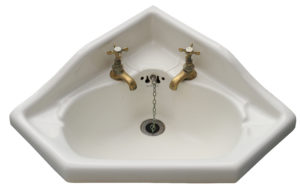 An Antique Corner Basin / Sink