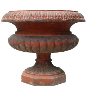 A Reclaimed Victorian Style Terracotta Garden Urn
