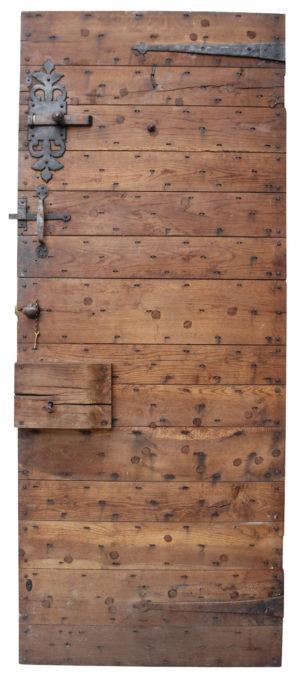 A Reclaimed English Oak Exterior Door