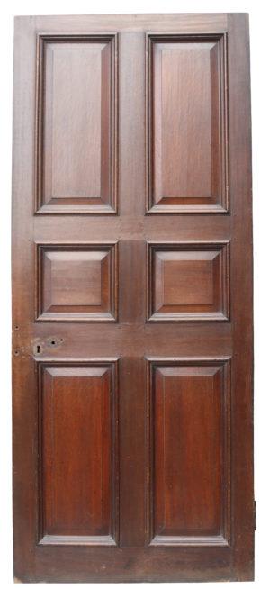 A Reclaimed English George III Oak Door