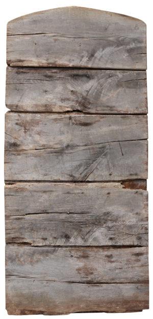 A Reclaimed Rustic Plank Oak Door