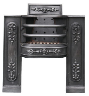 An Antique William IV Hob Grate