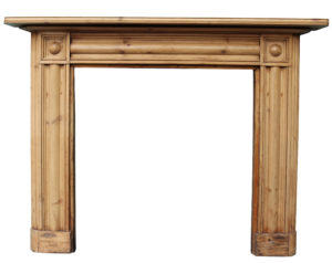 A Reclaimed Georgian Style Bulls-eye Fire Surround