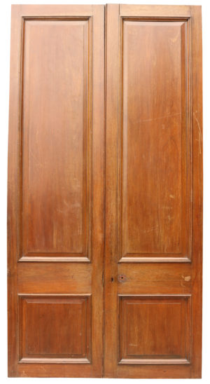 A Pair of Reclaimed Teak Double Doors
