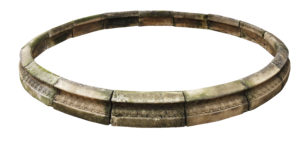 A Reclaimed Circular Stone Pool Surround 322cm (10'7″)