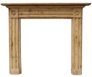 A Reclaimed Georgian Bullseye Fire Surround