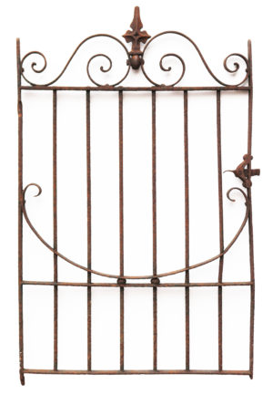 A Reclaimed Victorian Wrought Iron Side Gate