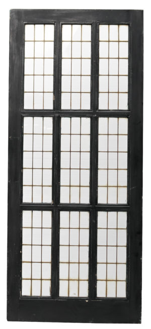 A Reclaimed Art Deco Copper Light Door (12 Available)