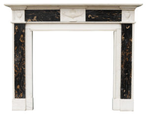 An Antique Regency Period Marble Fireplace