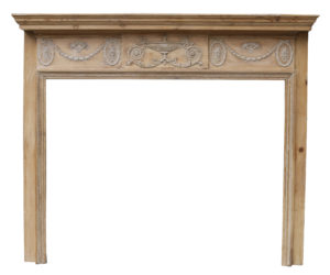 A Reclaimed Georgian Style Fire Surround