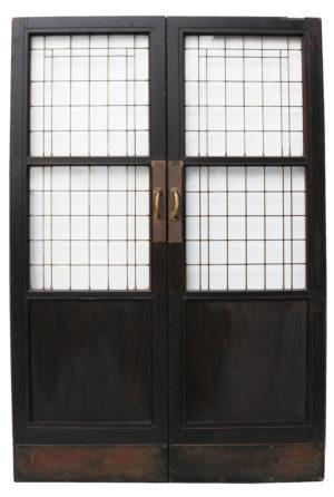 Set of Reclaimed Copper Light Doors
