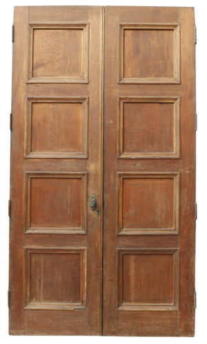 A Set of Large Reclaimed Oak Double Doors