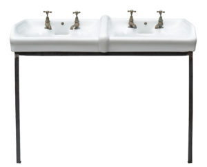 A Reclaimed 'Dent and Hellyer Ltd' Wash Basin