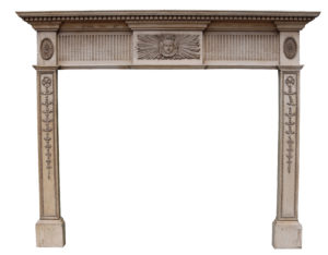 A Georgian Style Composition Fire Surround