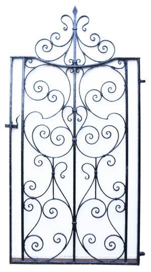 A Reclaimed Victorian Garden Side Gate