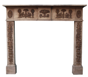 A Victorian Style Reclaimed Fire Surround