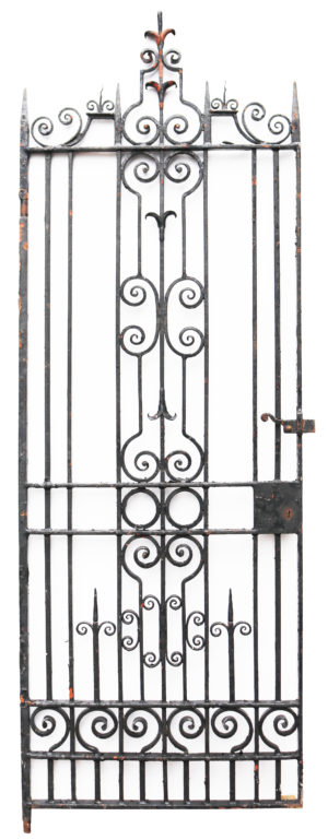 Side Gate Made of Wrought Iron