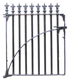 Victorian Style Cast Iron Side Gate