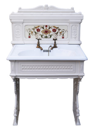 An Antique Victorian Style Wash Stand / Sink