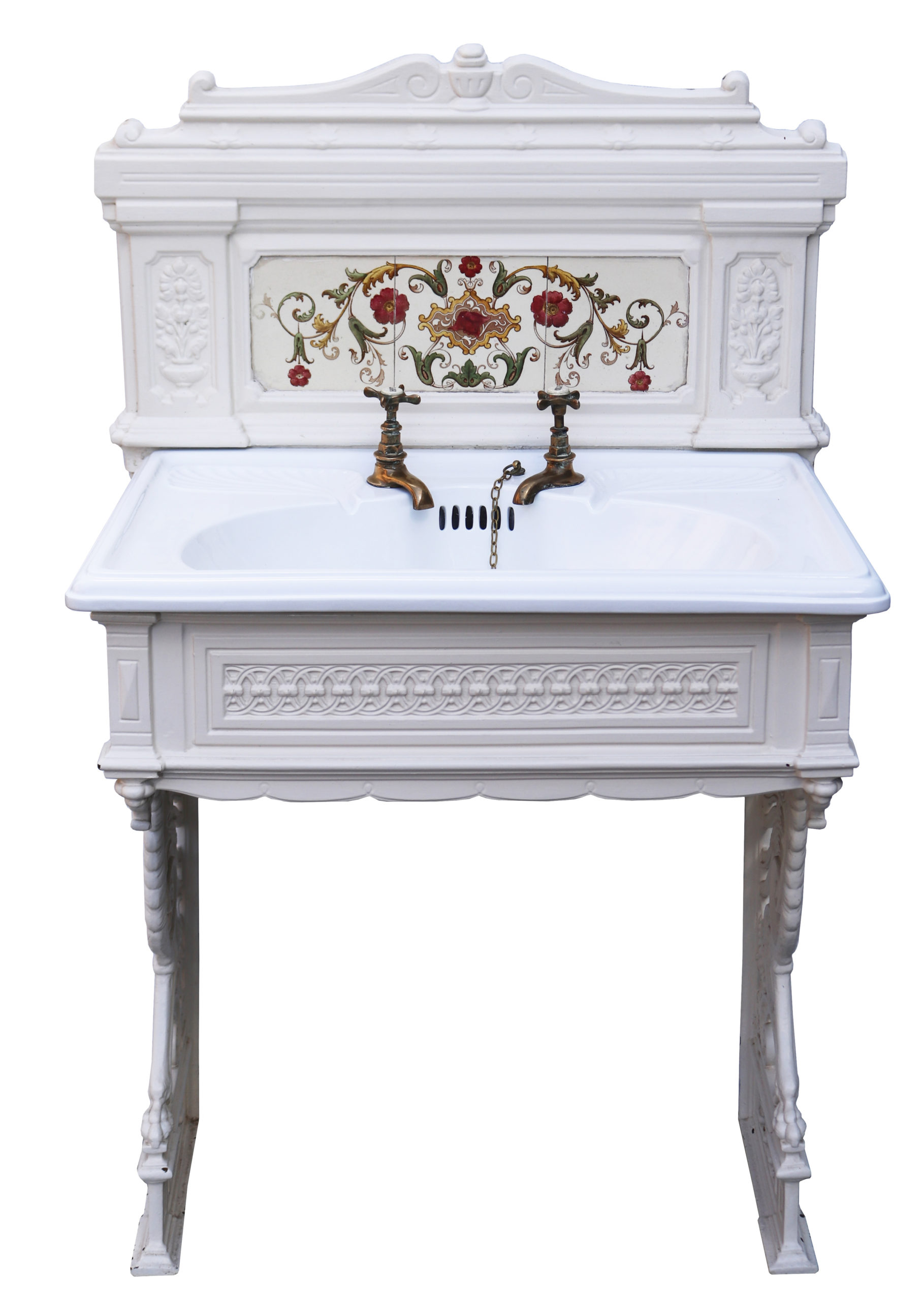 An Antique Victorian Style Sink /Basin with Stand