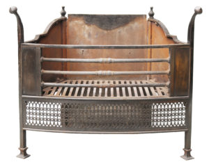 An Arts and Crafts Style Fire Grate