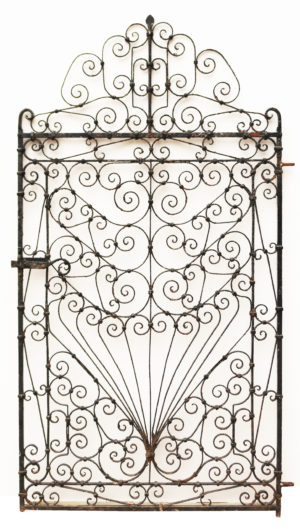 Georgian Style Wrought Iron Gate
