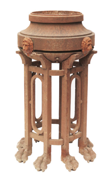 Antique Cast Iron Brazier