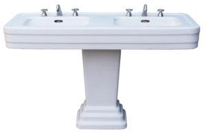 Reclaimed Jacob Delafon Double Pedestal Basin