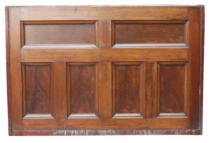 Antique Mahogany Dado Height Wall Panelling 18.6m (61 ft)