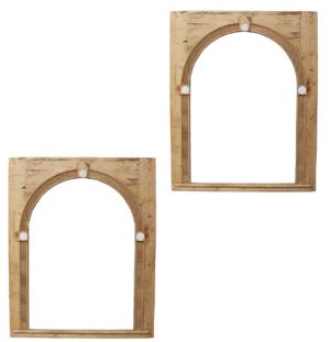 Pair of Georgian Alcove Frames