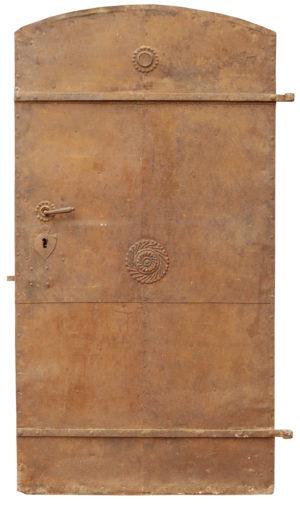 Antique Wrought Iron Door