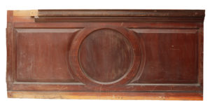 Reclaimed Mahogany Bar or Counter Front Panelling (4.5m)