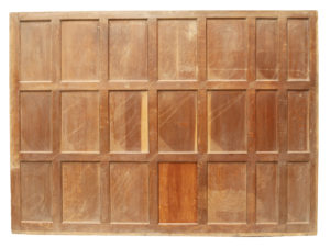 Victorian Style Oak Wall Panel