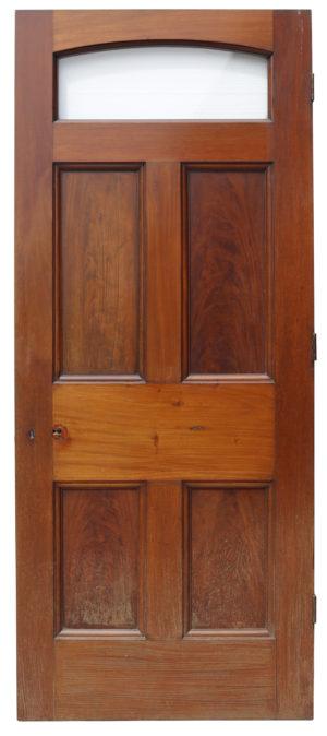 Glazed Georgian Mahogany Door