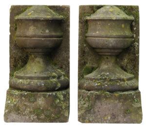 York Stone Urn Stop Finials