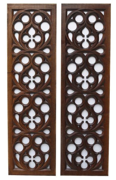 Carved Oak Panels
