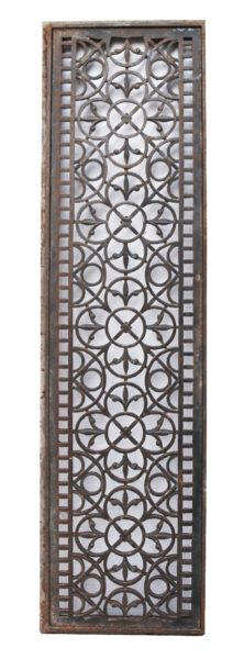 Victorian Cast Iron Church Floor Grills (16 Pieces)