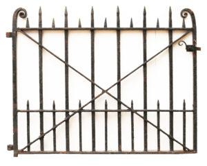 Reclaimed Heavy Duty Wrought Iron Gate
