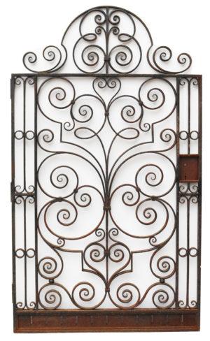 Reclaimed Wrought Iron Pedestrian Gate