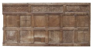 Reclaimed 17th C. English Oak Wall Panelling 20.8m (68 ft)