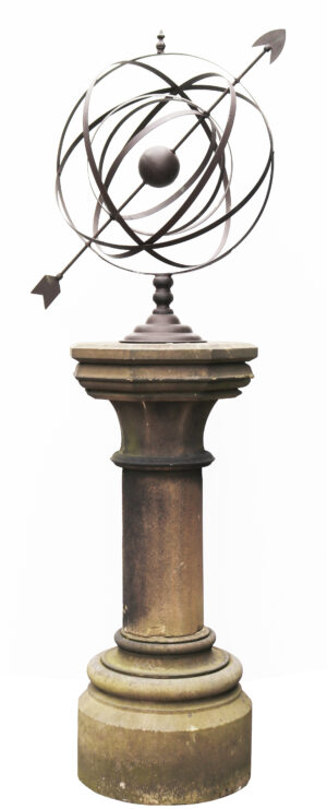Large Scale Antique Armillary Sundial